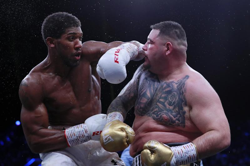 Joshua wants a first title defence back home in London: Action Images via Reuters