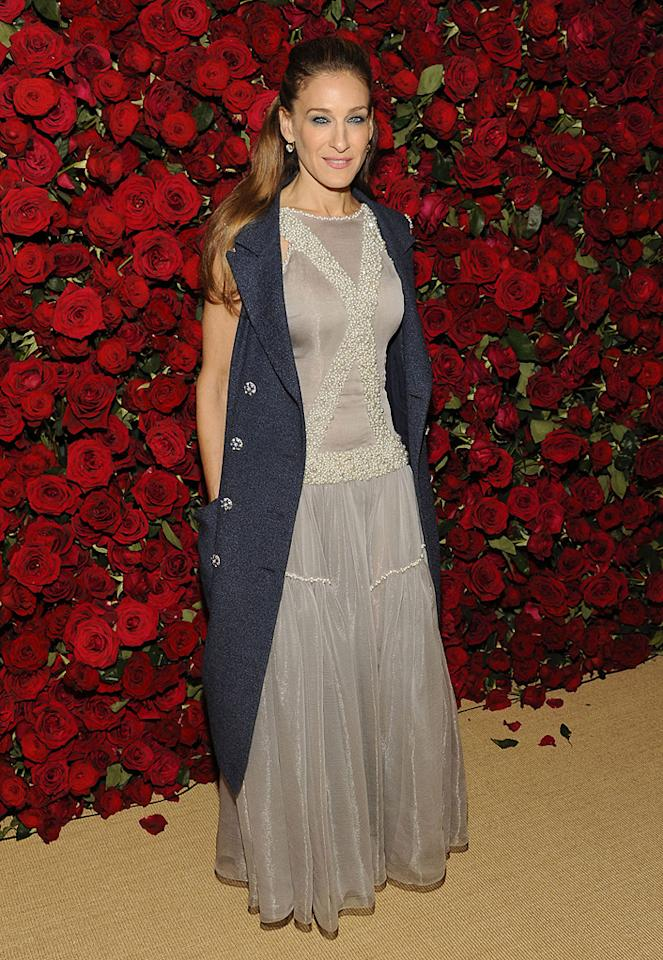 """<a href=""""http://movies.yahoo.com/movie/contributor/1800016083"""">Sarah Jessica Parker</a> attends the Museum of Modern Art's 4th annual film benefit """"A Tribute to Pedro Almodovar"""" at the Museum of Modern Art on November 15, 2011 in New York City."""