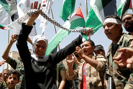 Palestinian refugees say Trump cannot bury right of return