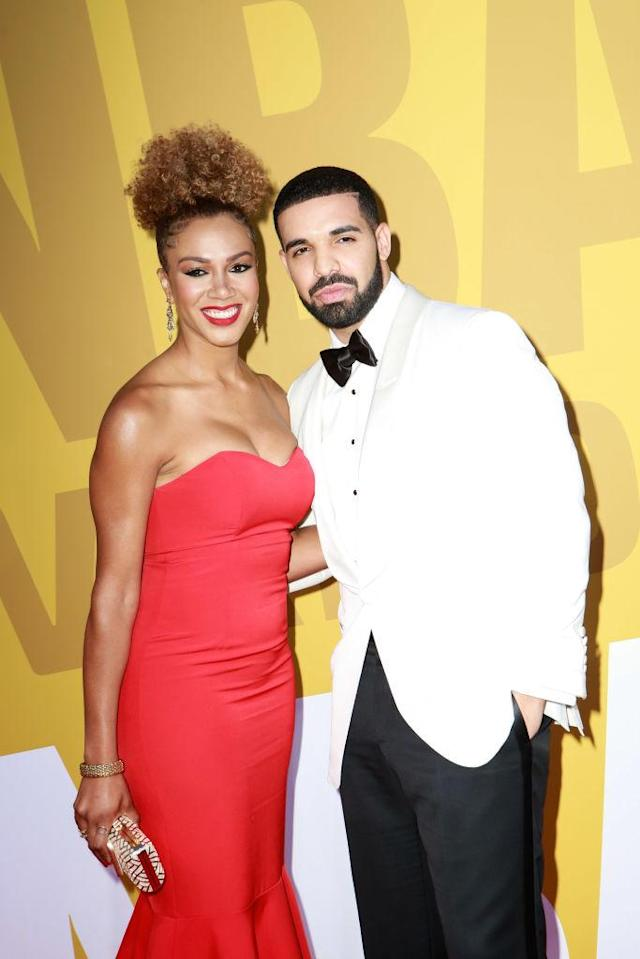 Rosalyn Gold-Onwude was Drake's date at the 2017 NBA Awards on June 26. (Photo: Jamie McCarthy/Getty Images for TNT)