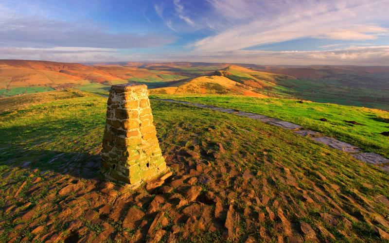 mam tor, peak district - getty