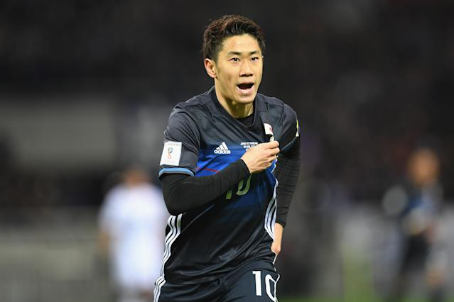 Shinji Kagawa will be Japan's premier playmaker at the 2018 World Cup. (Getty)