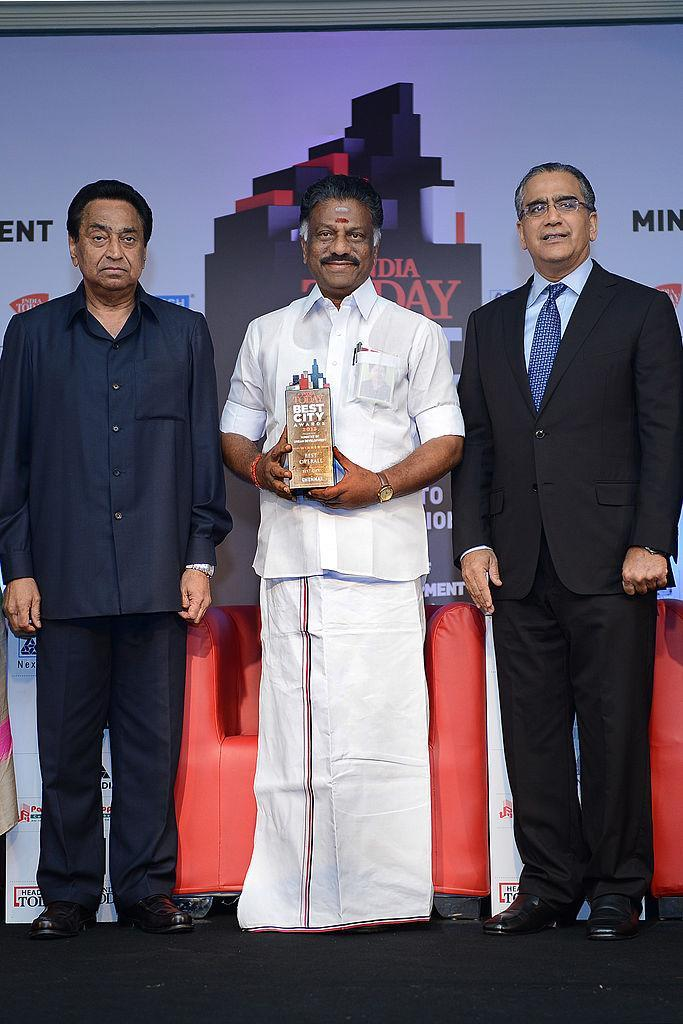 <p>He studied Bachelor of Arts at Karutharawuthar college in Uthamapalaiyam. He had humble beginnings as a tea-seller. OPS along with his friend Vijayan started a tea stall, PV Canteen in 1970. </p>