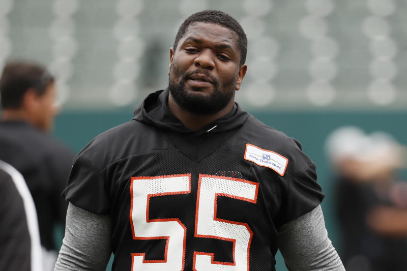 National Football League fines Bengals' Burfict $112000 for hits