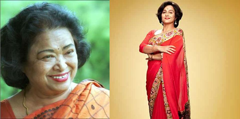 Vidya Balan plays the math genius Shakuntala Devi in a new biopic. She has been nicknamed 'Human Computer' because of her extraordinary talent and skill in solving complex mathematical problems without any mechanical aid.