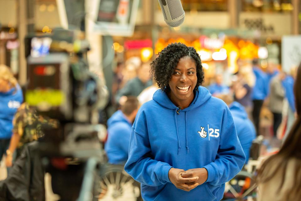 Ohuruogu was speaking at an event in Stratford to celebrate the National Lottery's 25th anniversary