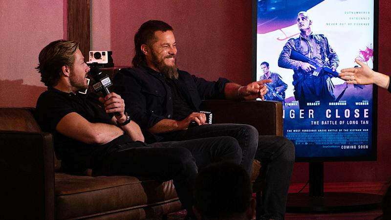 Travis Fimmel And Luke Bracey Talk Danger Close And James Bond