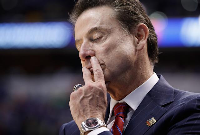 Louisville has sued Rick Pitino for potential monetary damages from vacated wins. (Getty)