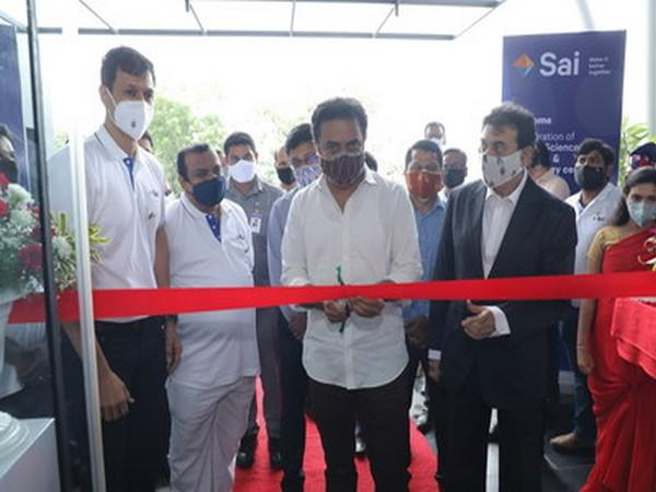 L-R: Krishna Kanumuri, CEO & MD Sai Life Sciences, Sri KT Rama Rao Hon'ble Minister for Industry & Commerce and IT and Jayesh Ranjan, Principal Secretary to Government Industries and Commerce