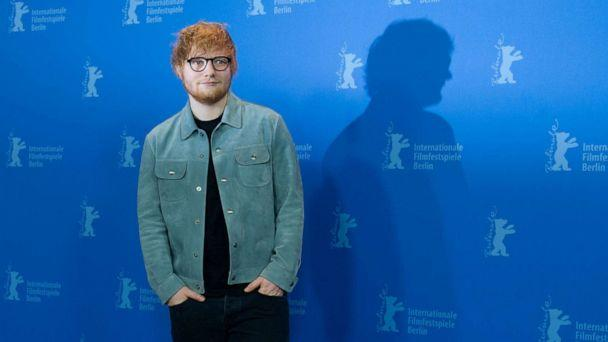 PHOTO: Singer-songwriter Ed Sheeran poses at an event for the film 'Songwriter' at the Berlinale film festival in Berlin on Feb. 23, 2018. (Stefanie Loos/AFP via Getty Images, FILE)