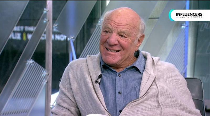 """Barry Diller on Yahoo Finance's """"Influencers"""" show with Andy Serwer on Jan. 15, 2019."""