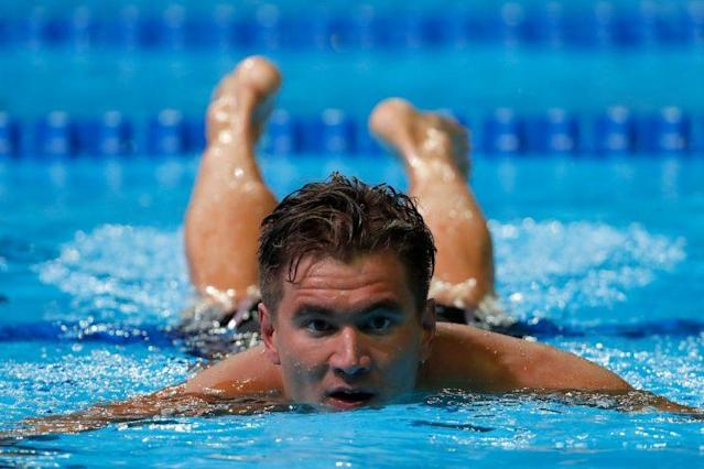 American Nathan Adrian will have his hands full in the men's 50 free. (Getty)
