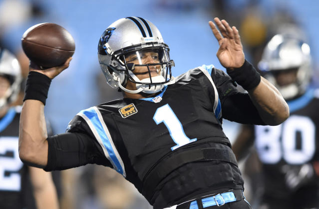 Cam Newton was shocked at how good he was feeling following another shoulder surgery. (AP Photo/Mike McCarn, File)
