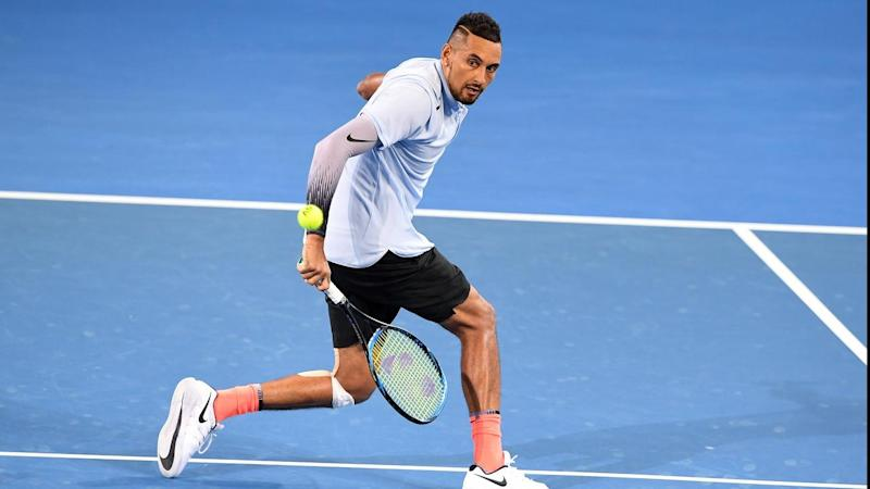 Nick Kyrgios will begin Australian Open campaign against Brazil's world No.100 Rogerio Dutra Silva