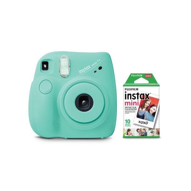 <p>Friends and family of all ages will adore this <span>Fujifilm Instax Mini 7+ Camera in Seafoam Green</span> ($49).</p>