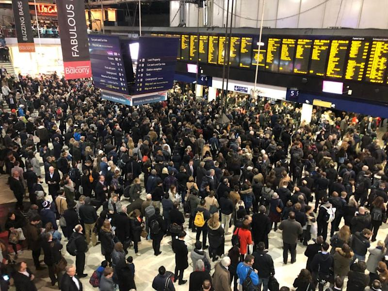 Trains travelling into Waterloo are set to be disrupted (file photo) (Mike Hall)