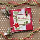 """<p>Repurpose any traditional scrapbook making materials you might have lying around to create festive shabby chic DIY Christmas cards. </p><p><em>Get the tutorial at <a href=""""https://www.thecraftpatchblog.com/christmas-ornament-scrapbook/"""" rel=""""nofollow noopener"""" target=""""_blank"""" data-ylk=""""slk:The Craft Patch Blog"""" class=""""link rapid-noclick-resp"""">The Craft Patch Blog</a>.</em></p><p><a class=""""link rapid-noclick-resp"""" href=""""https://www.amazon.com/Pattern-Paper-Pack-Single-Sided-Collection/dp/B07JZFWCD4?tag=syn-yahoo-20&ascsubtag=%5Bartid%7C10072.g.34351112%5Bsrc%7Cyahoo-us"""" rel=""""nofollow noopener"""" target=""""_blank"""" data-ylk=""""slk:SHOP HOLIDAY SCRAPBOOK PAPER"""">SHOP HOLIDAY SCRAPBOOK PAPER</a></p>"""