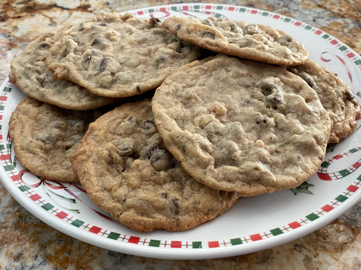 My own attempt at Grace Fumerton's famous cookies. (Terri Peters/TODAY)