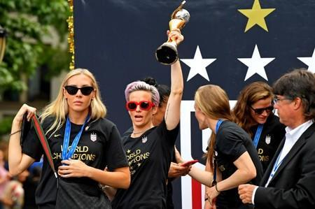Soccer: Womens World Cup Champions-Parade