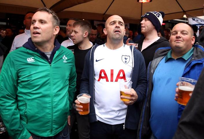 Football fans could be allowed to drink at matches if the recommendations of a fan-led review are accepted (PA Archive)