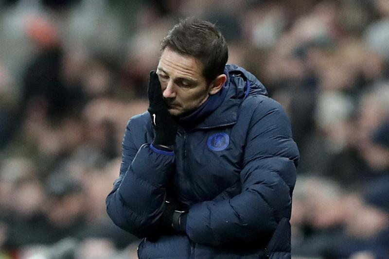 Problems at the Bridge for Lampard. (REUTERS)