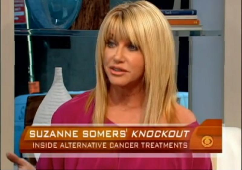 Suzanne Somers cancer talk show