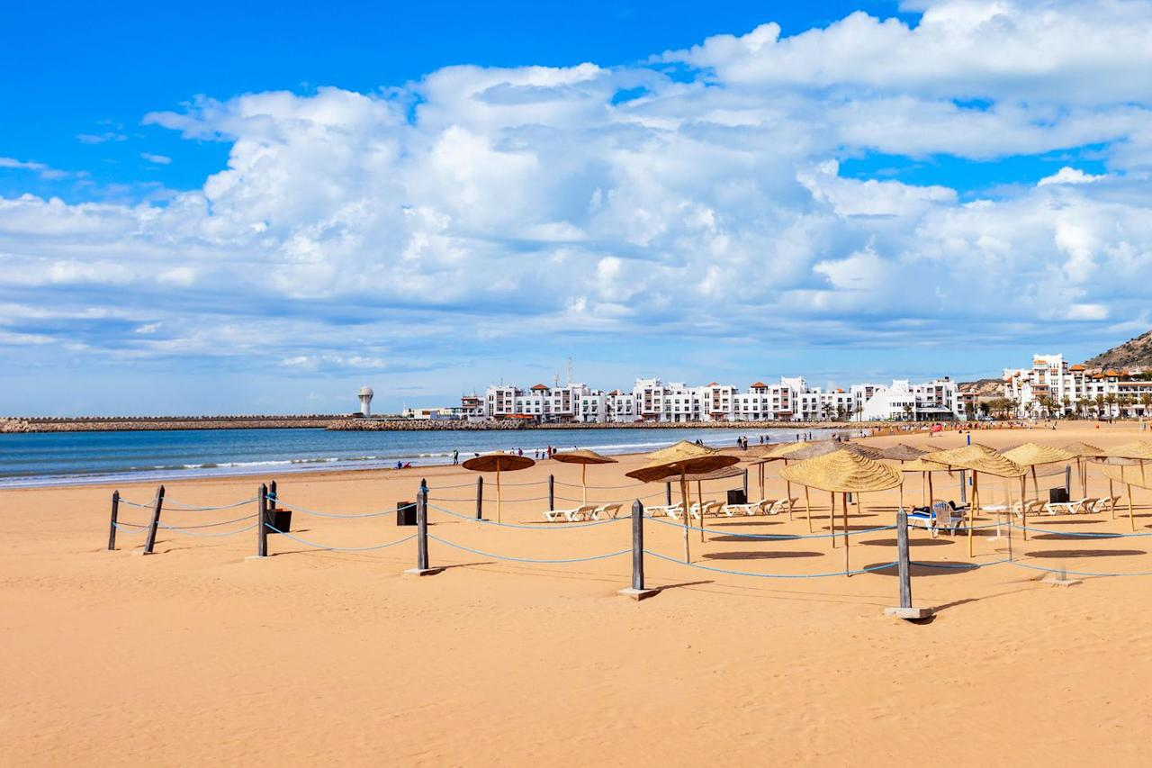 "<p>Compared to last year, all-inclusive packages to Agadir in Morocco have dropped by 13 per cent and a seven-night stay in a four-star from London in May can now <a rel=""nofollow"" href=""https://www.travelsupermarket.com/en-gb/holidays/results/5310a3fa823ab0522c0a32d4/528cc0fde4b0ec1df5267bd4/2018-05-19/7/?room=A2"">start from £284pp.</a></p>"