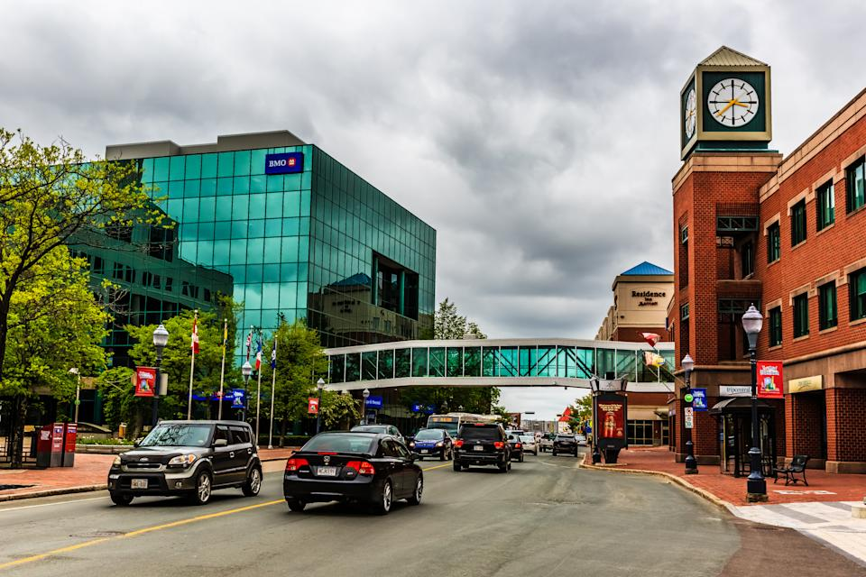 Downtown of Moncton City in New Brusnwick, Canada, where doctors have been baffled by the rise of a debilitating condition. Source: Getty