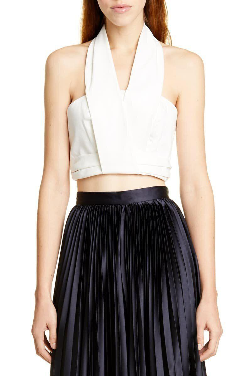 Nelly Stretch Organic Cotton Bustier Top