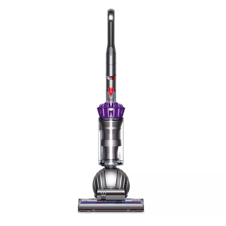 """A slimmer, more affordable version of the aforementioned Animal Vacuum, ideal for small spaces occupying small furry friends. $350, Target. <a href=""""https://www.target.com/p/dyson-slim-ball-animal-upright-vacuum/-/A-76578376"""" rel=""""nofollow noopener"""" target=""""_blank"""" data-ylk=""""slk:Get it now!"""" class=""""link rapid-noclick-resp"""">Get it now!</a>"""
