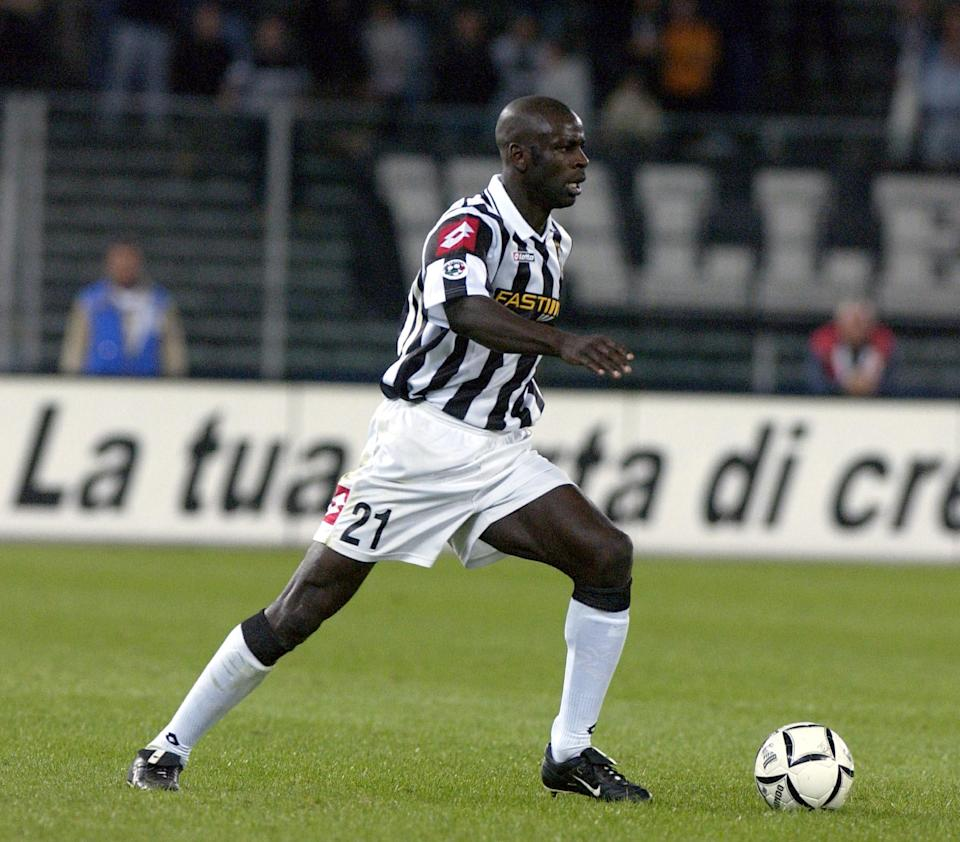 Three years after Stam's move, Lillian Thuram moved Parma to Juventus for a record fee of £22 million in 2001. Thuram went on to make 152 appearances in five seasons for the Italian giants, before signing for Barcelona, where he stayed for two years before retiring. (Credit: Getty Images)