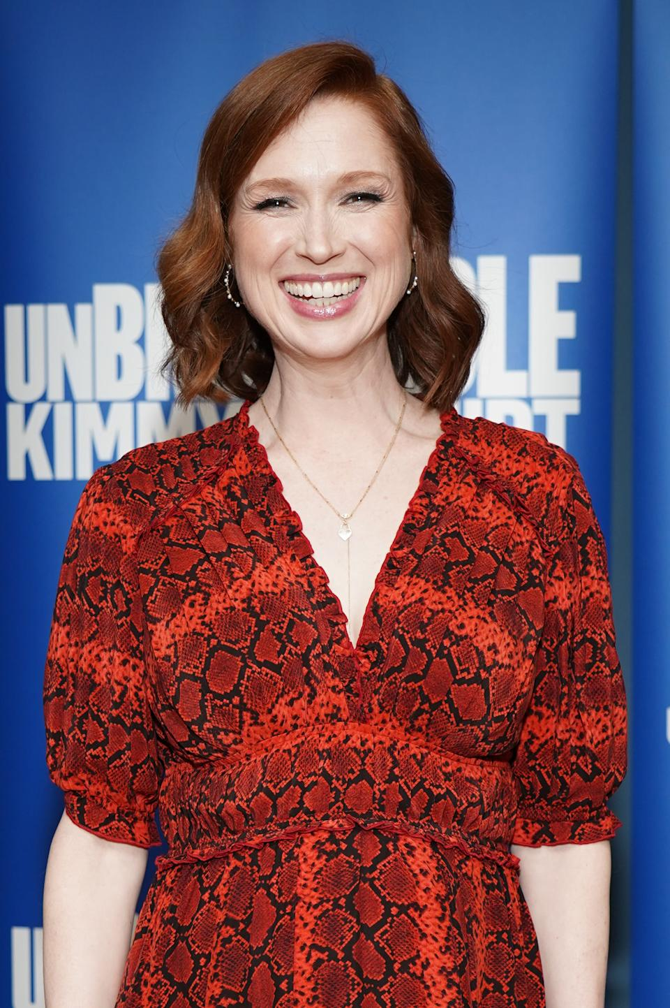 LOS ANGELES, CALIFORNIA - MAY 29: Ellie Kemper attends Universal Television's FYC