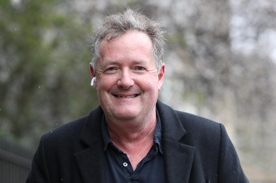 File photo dated 10/3/2021 of Piers Morgan who has launched an impassioned attack on cancel culture and a defence of free speech in recounting his departure from Good Morning Britain for what he said was not believing the Duchess of Sussex. Issue date: Sunday March 28, 2021.