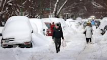<p>Chicago may be used to snowfall, but winter storm Uri impacted the Windy City, as well. Lake-effect snow dumped more than 17 inches in some areas of the city. </p>