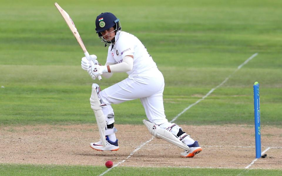 Verma looked right at home on Test debut - GETTY IMAGES