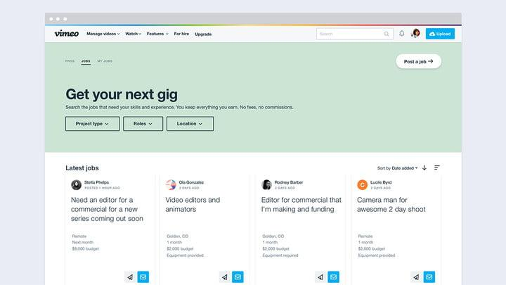 vimeo for hire launches hiringtool 2 copy