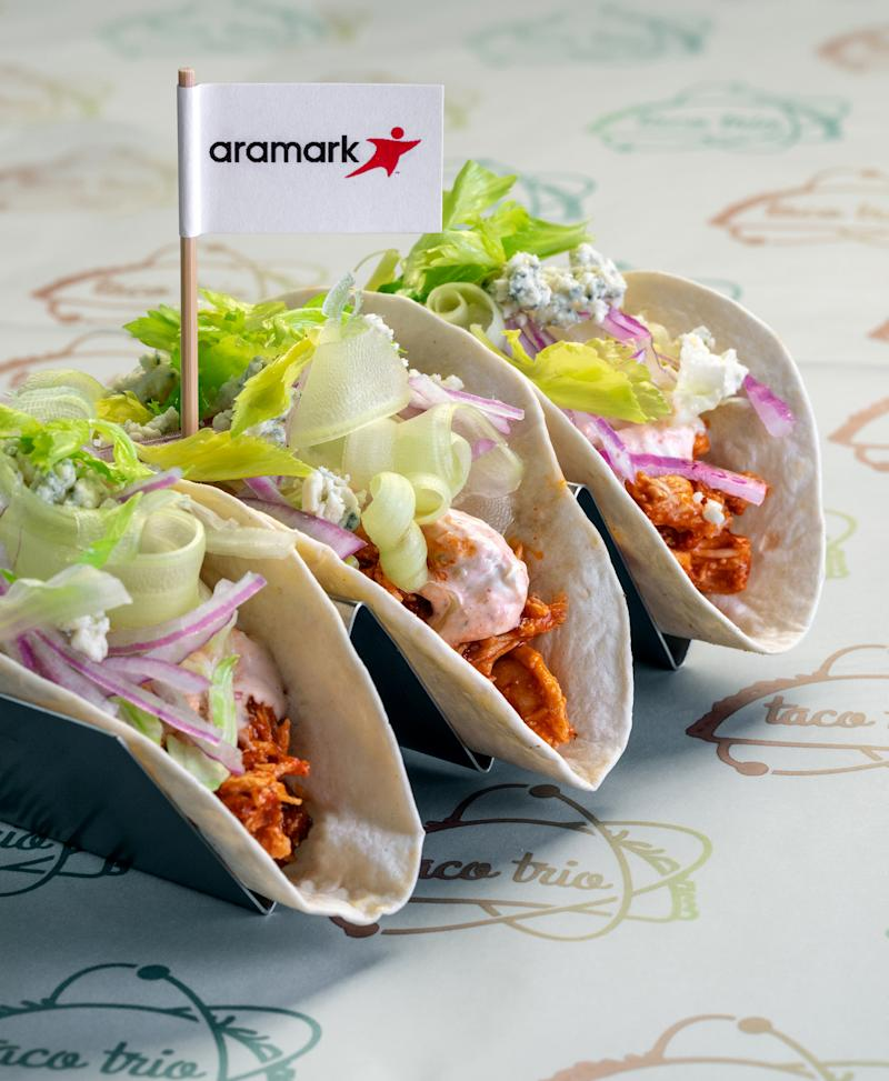 Aramark Kicks-off Football Season with the Debut of the 30 Hottest New Menu Items across the NFL