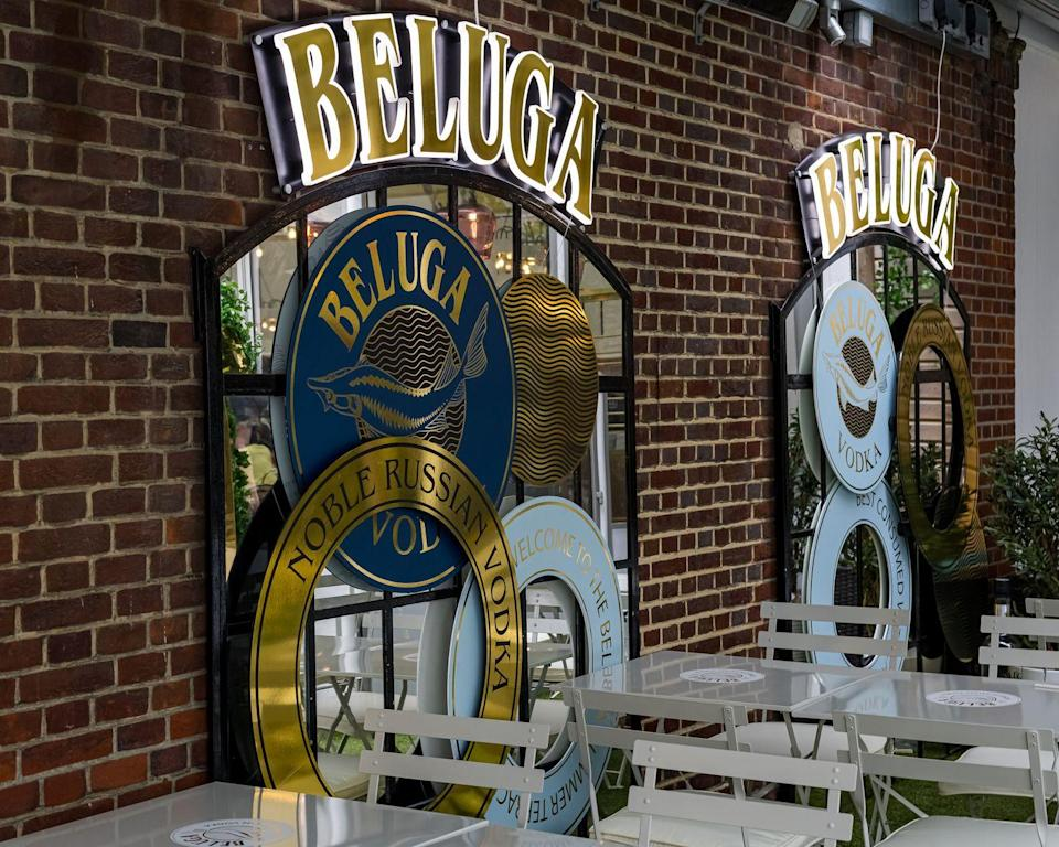 <p>On the fifth floor of the Knightsbridge-based department store, the outside terrace has been taken over by Beluga Vodka and transformed into a cocktail lover's oasiis, with twists on classics like strawberry martini.</p>
