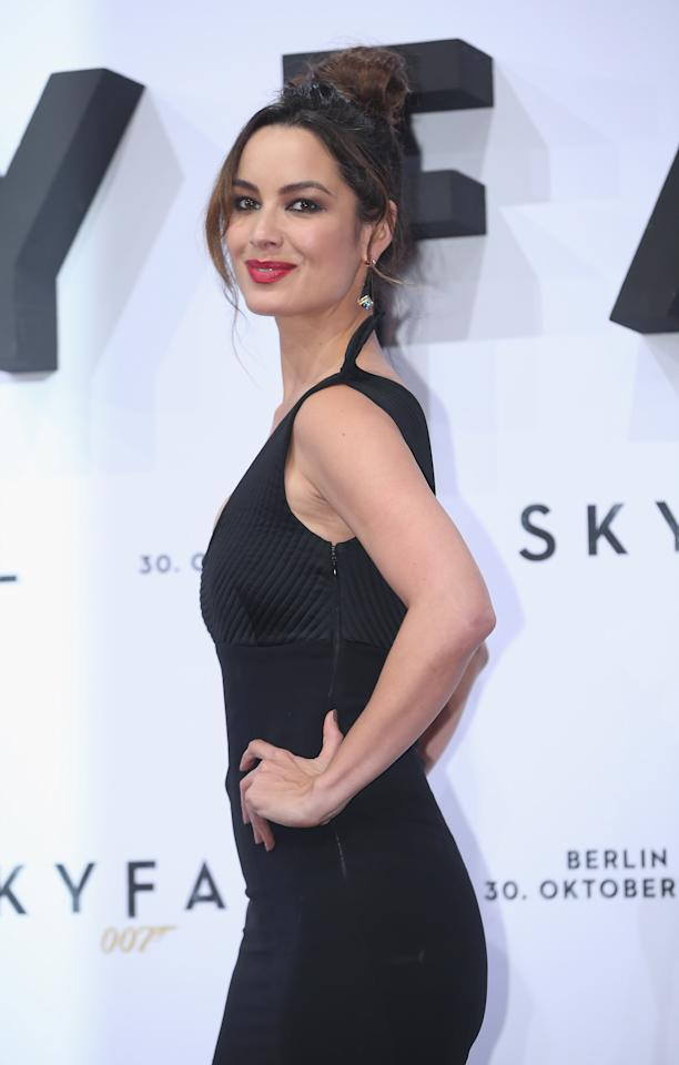 "BERLIN, GERMANY - OCTOBER 30:  Actress Berenice Marlohe attends the Germany premiere of ""Skyfall"" at the Theater am Potsdamer Platz on October 30, 2012 in Berlin, Germany.  (Photo by Sean Gallup/Getty Images for Sony Pictures)"