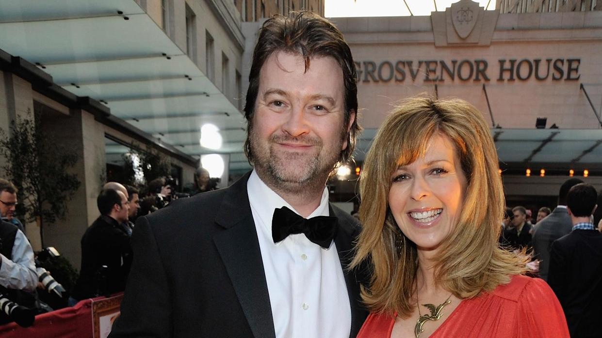 Kate Garraway's husband Derek Draper remembering to wish her Happy Birthday is a breakthrough in his recovery. (Getty Images)