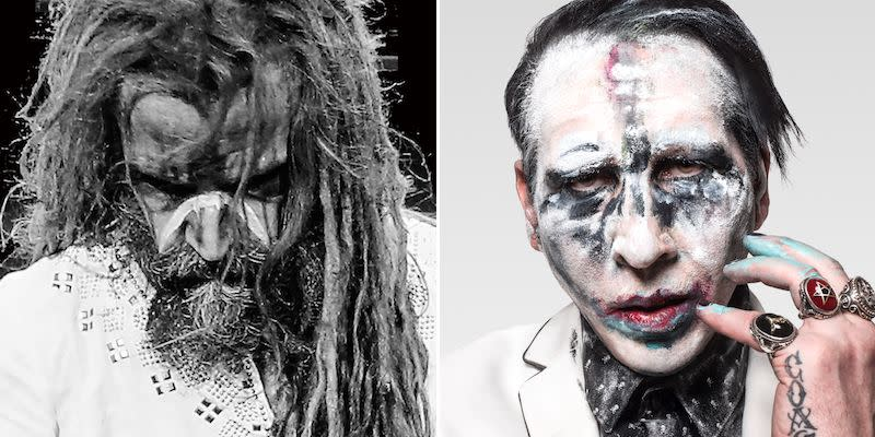 "Rob Zombie and Marilyn Manson team up for cover of The Beatles' ""Helter Skelter"": Stream"