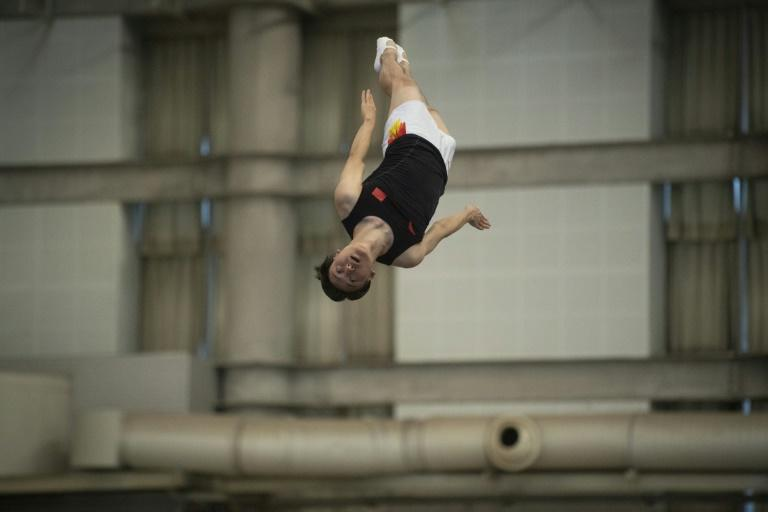 Dong is leaping at the chance to somersault his way into the Tokyo Games, which would make him the first male trampolinist to participate in four Olympics