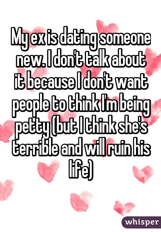 I love my ex but im dating someone else