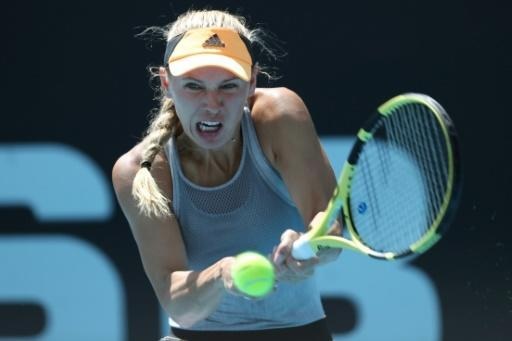 Caroline Wozniacki reached the semi-final at last week's Auckland Classic