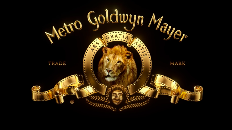 The iconic MGM lion.