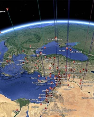 A new study used Google Earth to map trade and commerce around the ancient city of Antioch.