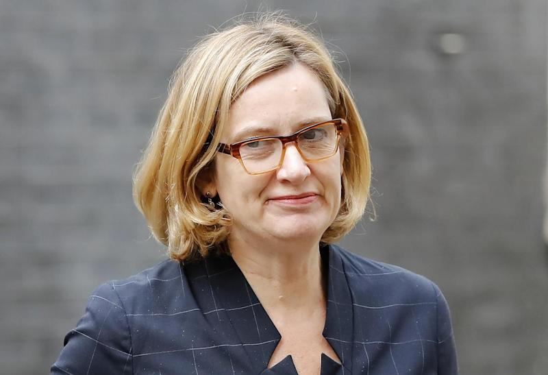 Amber Rudd (AFP/Getty Images)