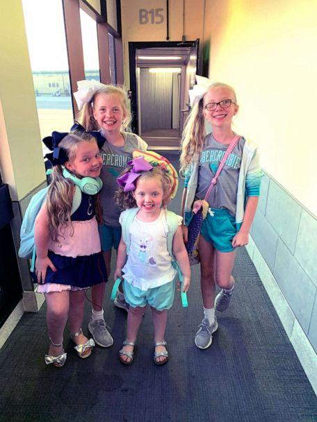PHOTO: Sisters Evelyn, 4, Mary Anson, 11, Eleanor, 7 and Susanna Tate, 11, are raising money in hopes to help pay for the adoption of their fifth sibling. (Sidney Tate)