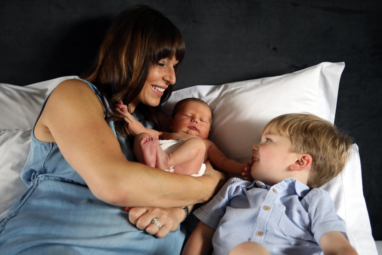 Claudia Matthews (pictured) and husband Benjamin have two children but have lost six others during pregnancy. Claudia works to raise awareness of baby loss and support other families who have experienced it. (Supplied)