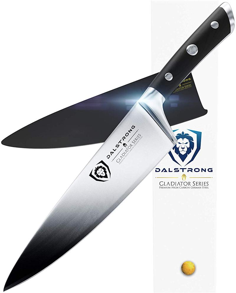 "Dalstrong Chef Knife - Gladiator Series - 8"". (Photo: Amazon)"